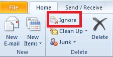 ignore command
