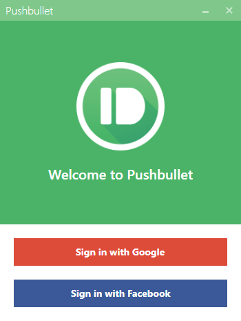 pushbullet on windows