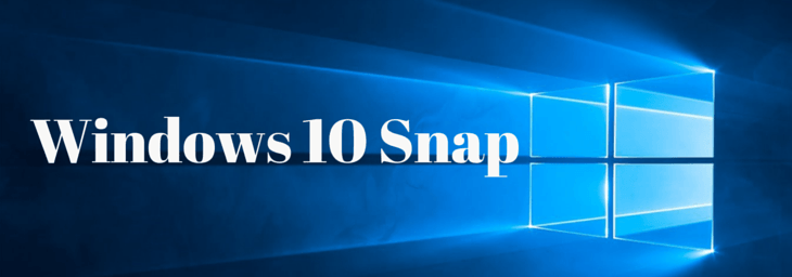 windows 10 snap