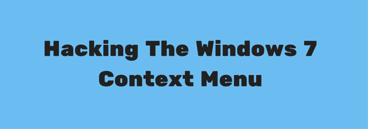 windows 7 context menu