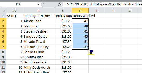 excel vlookup tutorial with values