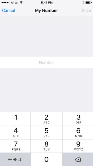 Input Phone Number
