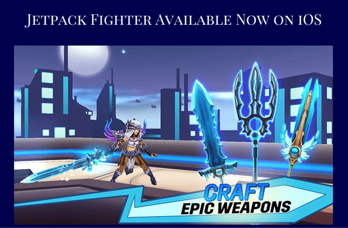 Jetpack Fighter Available Now on iOS