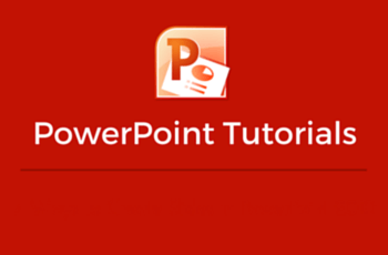 Microsoft PowerPoint Tutorials