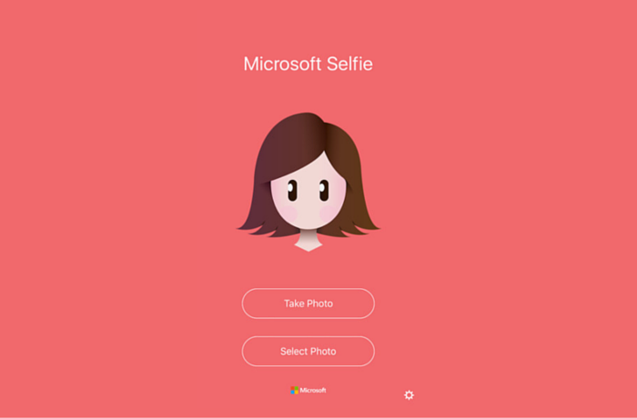 Microsoft Selfie Out for IOS