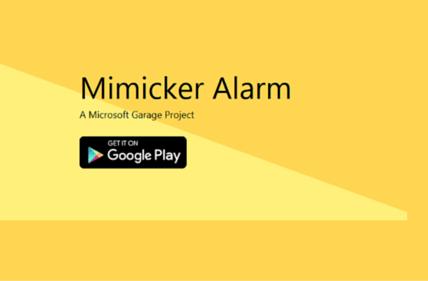 Mimicker Alarm app fi