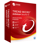 Trend Micro Antivirus+ Security 10