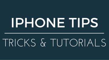 iphone tips & tutorials - gt