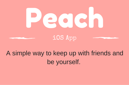 peach app for ios