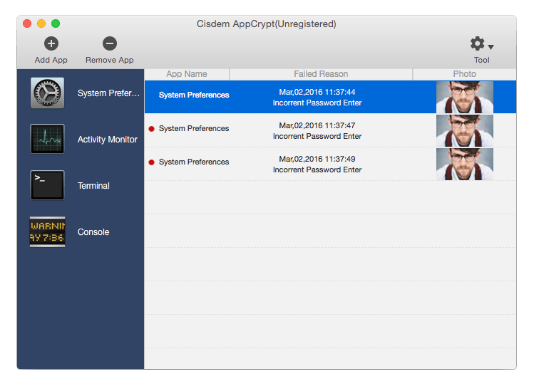 AppCrypt for Mac