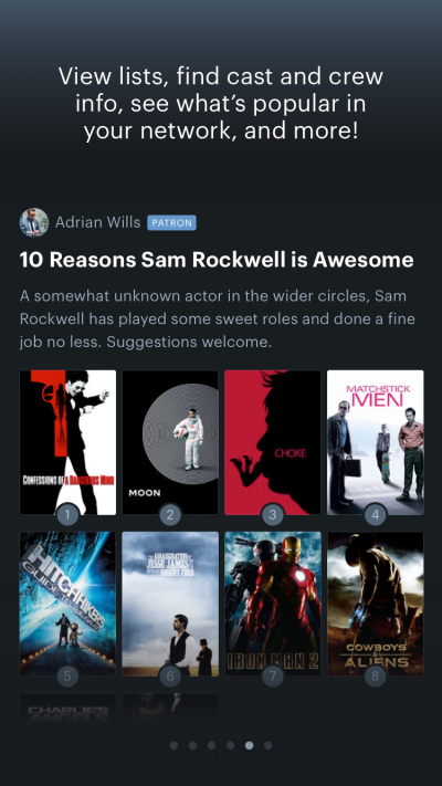 Letterboxd Lists
