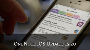OneNote iOS Update Lets You Embed Videos from YouTube, Vimeo, and Vine