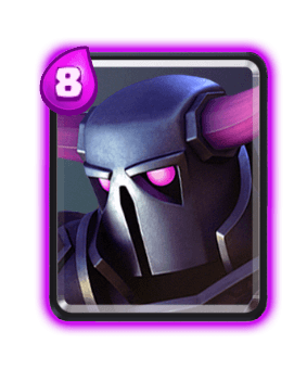 Clash Royale Cards in Arenas - PEKKA