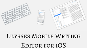 Ulysses Mobile Writing Editor for iOS fi