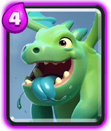 Clash Royale Troop Cards - baby dragon