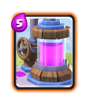 Clash Royale Cards in Arenas - elixir Collector
