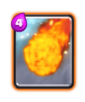 Fireball - Clash Royale Spell Cards