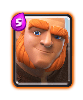 Clash Royale Troop Cards - Giant