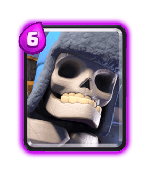 Clash Royale Cards in Arenas - giant skeleton