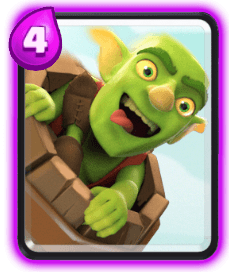 Clash Royale Spell Cards - Goblin Barrel