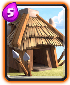 Clash Royale Building Cards - goblin hut