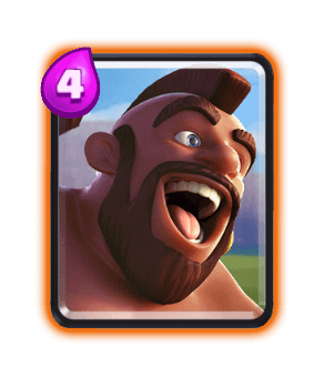Clash Royale Cards in Arenas - hog rider