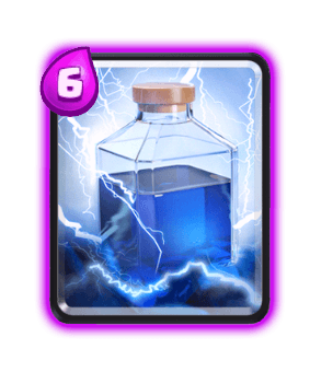 Clash Royale Spell Cards - lightning