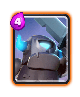 Clash Royale Troop Cards - Mini Pekka