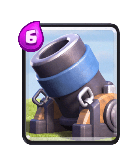 Clash Royale Cards in Arenas - mortar