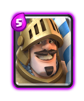 Clash Royale Troop Cards - prince