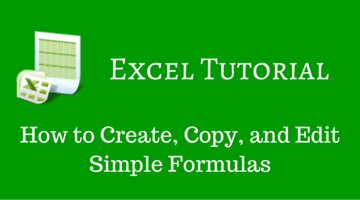 Excel Formulas for Beginners _ How to Create, Copy, and Edit Simple Formulas