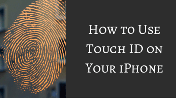 How to Use Touch ID on Your iPhone fi