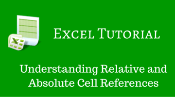 Understanding Relative and Absolute Cell References in Excel fi