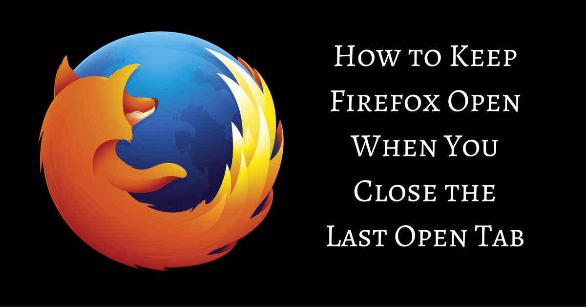 how to close tab firefox