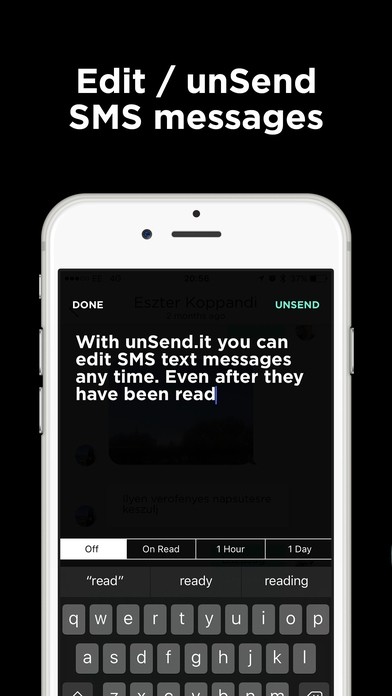 Unsend, Edit and Self Destruct Text Messages with Unsend It App