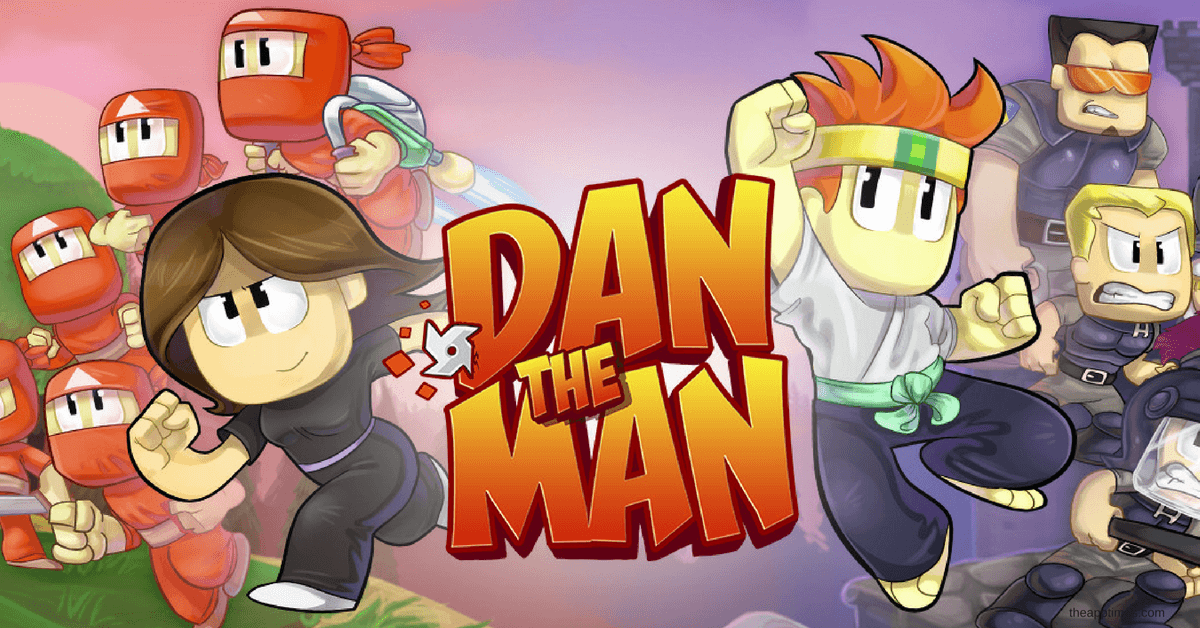 Dan the Man a Classic Brawler Platformer Now on iOS and Android
