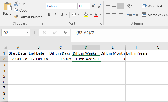 how-to-calculate-number-of-weeks-between-two-dates-in-excel