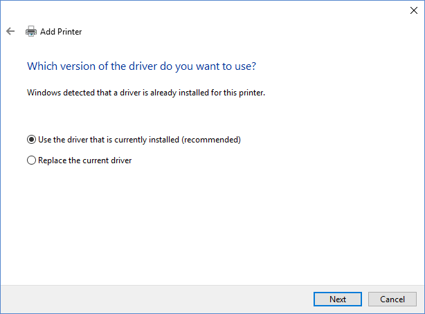 which-version-of-the-driver-do-you-want-to-use