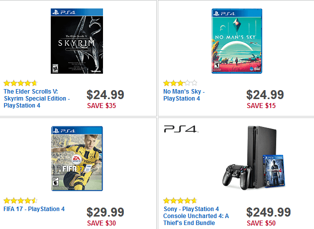 Best Buy Black Friday Deals PS4