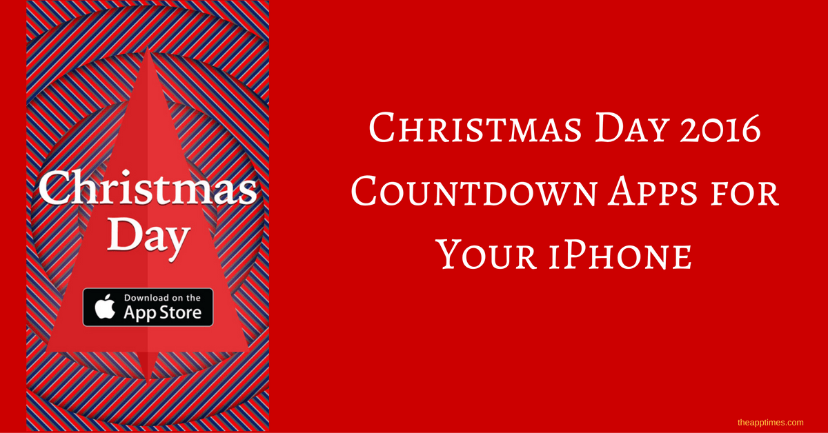 Christmas Countdown App For Iphone
