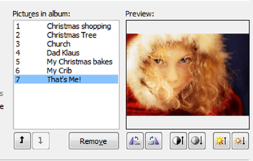 create your perfect christmas photo album