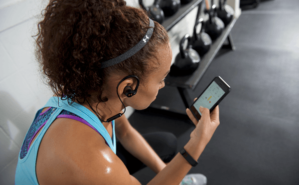 JBL UA Sport Wireless Heart Rate UA Record app