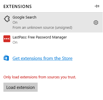 google-search-menu-added-in-extensions