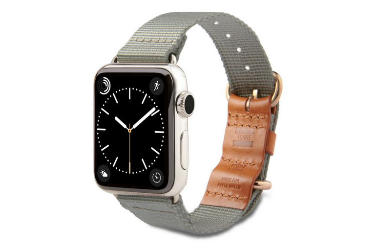 TOMS Debuts Apple Watch Bands