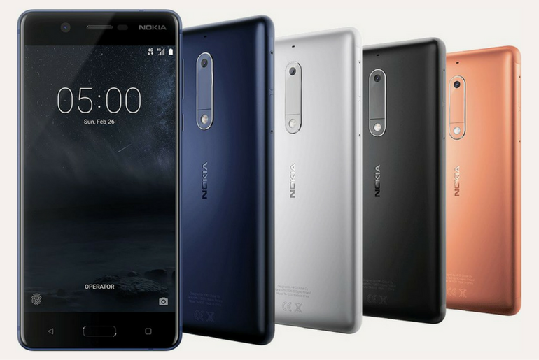 Nokia 5 Launched at MWC 2017 - TATFI