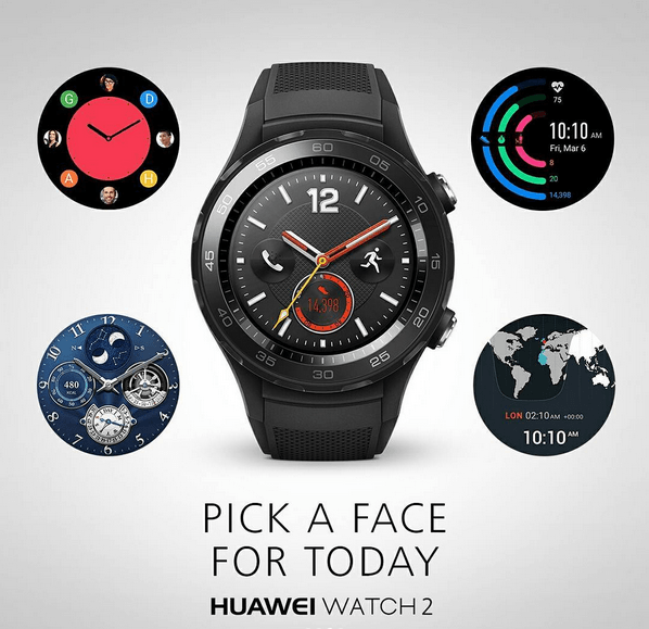 Huawei Watch 2 Watch Faces