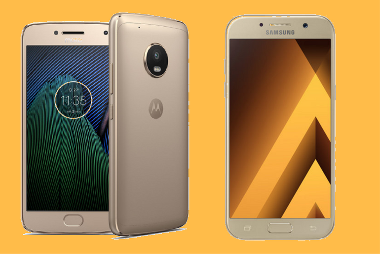 Moto G5 Plus vs Samsung Galaxy A5 (2015) - TATFI