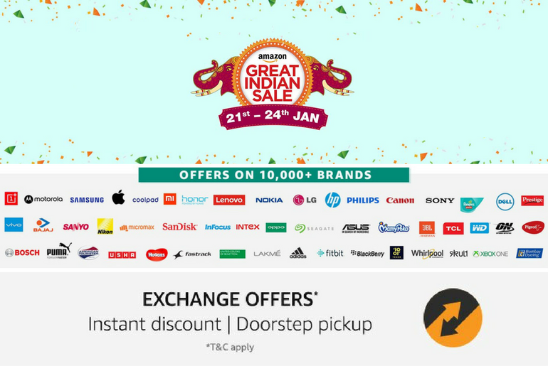 Best Picks in the Amazon Great Indian Sale Jan 2017