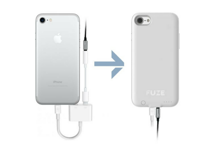 Bring Back the Headphone Jack in iPhone 7 with the Fuze Case