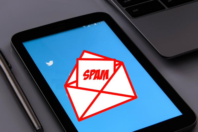How to Mark a Direct Message on Twitter as Spam